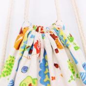 Women Retro Drawstring Travel Bag Fcostume Beam Port Backpack Shopping Bag