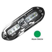 SHADOW-CASTER AQUA GREEN 6 LED UNDERWATER LIGHT W/6.1m