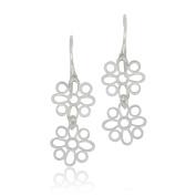 Goldmajor Women 925 Sterling Silver Dangle and Drop Earrings JWER1411