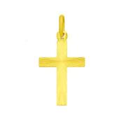 Cross Pendant 333 8 carat Yellow Gold Cross Pendant