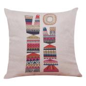 QUINTRA Home Decor Cushion Cover Geometric Bird Throw Pillowcase Geometry Pillow Covers