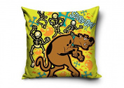 Scooby Doo and Skeletons Decorative Cushion Cover Pillow Case Home Decor