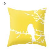 Yosemite Cushion Cover Pillowcase Throw Pillow Case Sofa Decoration Pineapple-46cm x 46cm