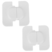MagiDeal 2pcs Adhesive Kids Baby Safety Cabinet Door Drawer Cupboard Fridge Lock