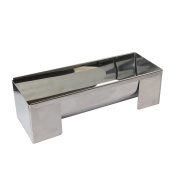 Lily Cook kp5457 Log Mould Stainless Steel/Grey, 24 x 9 x 9 cm