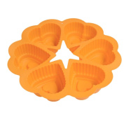 Cake Heart Shape Mould Chocolate Silicone SOMESUN DlY Microwave Baking Tools Bakeware Mould Maker