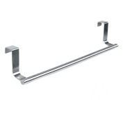 ROKOO Stainless Steel Towel Bar Holder Kitchen Cabinet Cupboard Door Hanging Rack Storage Hook Accessories