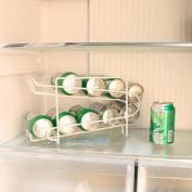 Can Rack Beer Drinks Holder Beverage Dispenser Cans Stand Fridge Refrigerator Party Holder Kitchen Cupboard Storage Organiser
