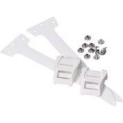 Contour Tailclip Set with Strip and Rivets for Ski Skins