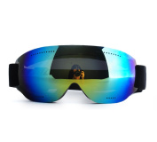 Frameless Adult Skiing Mirror Male Female Children Mountaineering Outdoors Riding Goggles