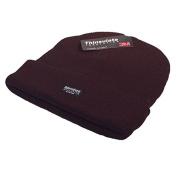 Unisex Black Thinsulate Beanie Hat