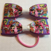 LOL Dolls inspired Grosgrain Ribbon Girls Fashion Boutique Hair Bows - Hair Accessories Baby Girl