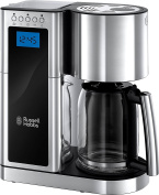 Russell Hobbs 23370 Elegance Digital Filter Coffee Maker - Programmable with 24 hour Timer, Reusable Filter, Hot Plate and 10 Cup Capacity