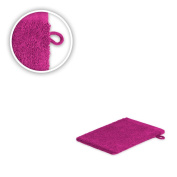 Wash Gloves 15 x 21 cm Available in Various Colours, 500 g/m² High Quality Neu/OVP, Pink, Waschhandschuh 15 x21 cm