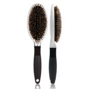 Professional Nylon Bristle Comb Detangling Anti-static Massage Hairbrush Curly Styling Comb