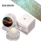 Yiwa Highlighter Eyeshadow Cream Glitter Shimmer Beauty Makeup Eye Shadow