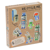 Re Cycle Me defg1110 - Crafting Fun ROBOTOR Theme World for 6 modelle