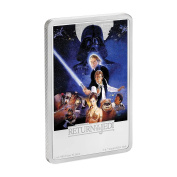 Star Wars - The Return of the Jedi $2 30ml Silver Coin - Niue 2017