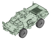 Trumpeter 07131 Model Kit M1117 Guardian Armoured Security Vehicle