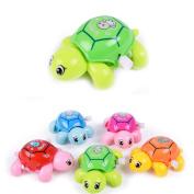 prelikes Cute Animal Clockwork Tortoise Baby Turtles Toys Infant Crawling Wind Up Toy