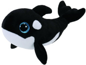 TY 36893 Nona Orca Glitter Eye Beanie Boo's, limitiert, 15 cm
