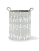 40 x 50 cm Roomblush Large Storage Basket in Grey with Arrows for Boys and Girls Nursery Minimalischtes Design New RB0020