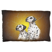 Dalmatians Live Forever Pillow Case Multi Standard One Size