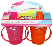 BornCare BCWS-158 2 Handle Non Spill Cup Sippy for Baby - 2 Pack