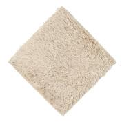 Kolylong Absorbent Soft Bath Bedroom Floor Square Mat Non-slip Shower Rug 30x30cm