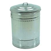 VACCHETTI Josef 5711880000 Metal Waste Bin, Grey, 45 x 58.5 x 35 cm
