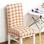 1pcs Stretch Home Decor Dining Chair Cover For Wedding Party Chair Cover Removable Stretch Elastic Slipcover Dining Chair Seat Covers Five styles available , style 2