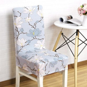 1pcs Stretch Home Decor Dining Chair Cover , Decor Polyester fabric Protective Cover with elastic band, universal nosefitting by spandex, elastic Span-Cover, Five styles , style 5