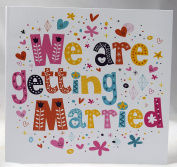 We are getting married Wedding Invitations Personalised Double Sided Day or Evening Invites