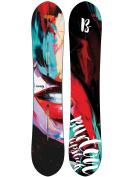 Freeride Snowboard Women Burton Lip-Stick 145 2018