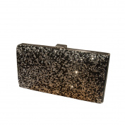 GSHGA Evening Bag PU Leather Clutch Bag Ladies Fashion Gown Bag For Party Wedding Clubs