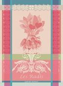 Garnier-Thiebaut 25517 Line Viscose from Bamboo/Cotton Bath Towel 150 x 100 cm Ecru