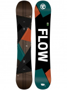 Freestyle Snowboard Men Flow Era 155W 2018