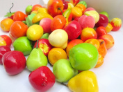 8pcs/lot Foam Mini Simulation Artificial Fruits And Vegetables Kitchen Toys For Children Pretend Play Toys