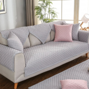 Sofa covers,Solid colour Fabrics Sofa slipcover Anti-skidding [modern] Simple Four seasons Sofa furniture protector-B 90x70cm
