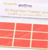 Colour code freezer labels