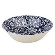Queens Victorian Calico Mint Blue Oatmeal 15.5CM, Ceramic, Multi-Colour, 15.5 x 15.5 x 6 cm