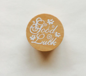 Stamp with Good Luck for Weddings, Christenings, Birthdays, Scrapbooking