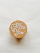 Stamp – Miss You For Weddings, Christenings, Birthdays, Scrapbooking