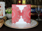 VStoy Romantic Party Wedding Invitation Card Envelope Delicate Carved Pattern