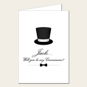 Personalised Wedding Party Card - Will You Be My Groomsman Card 3