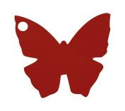 Santex 10 Gift Butterfly Design Bordeaux 45x40 mm