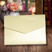 A6 Pocketfold Invites Cream Shimmer Pocketfold Invitation Wallets Incs Envelopes