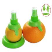 Affe 2 Pcs/set Creative Lemon Sprayer Fruit Juice Citrus Lime Juicer Spritzer Kitchen Gadgets