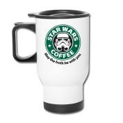 Mmmmmug Travel Coffee Mugs May The Froth Be With You Star Wars Mug