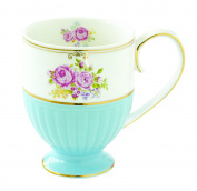 Easy Life Mug, Porcelain, Multicolor, 11 x 8.5 x 11 cm